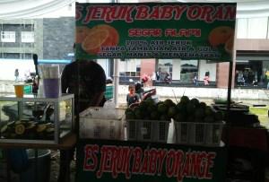Es Jeruk Baby Orange Segar Alami