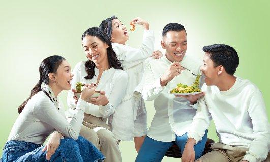 The Baldys Brand Ambassador Lemonilo Mie Instan Kekinian