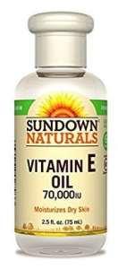 Sundown Naturals Vitamin E Oil 70000 IU