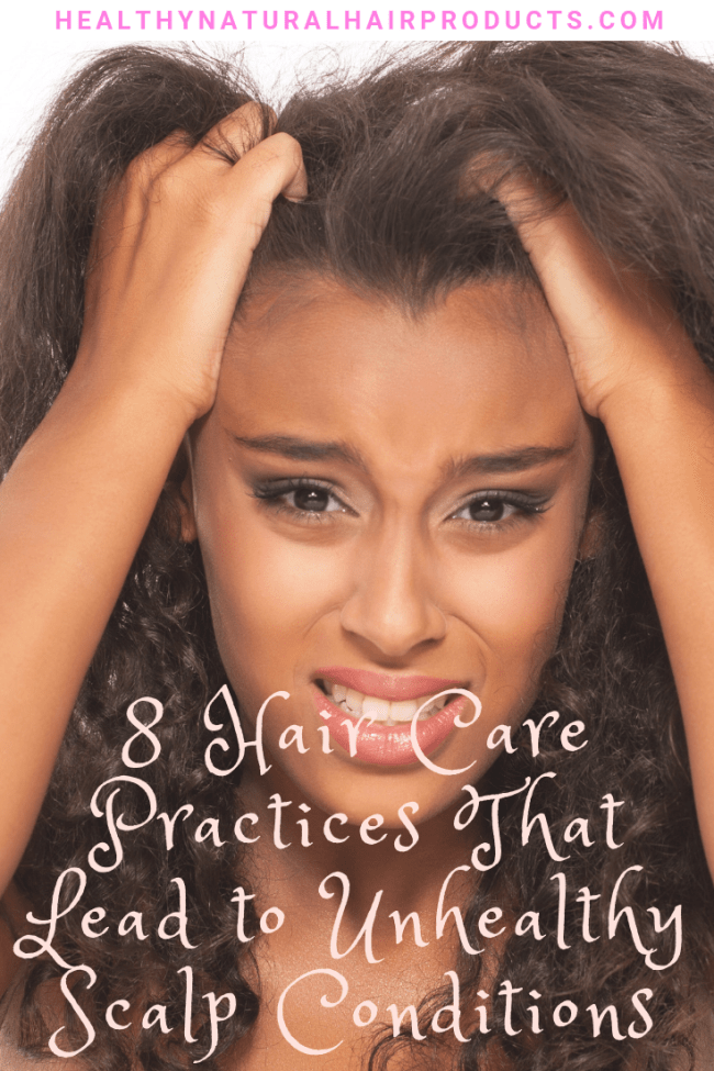 8 Hair Care Practices That Lead to Unhealthy Scalp Conditions. Scalp conditions that cause hair loss.
