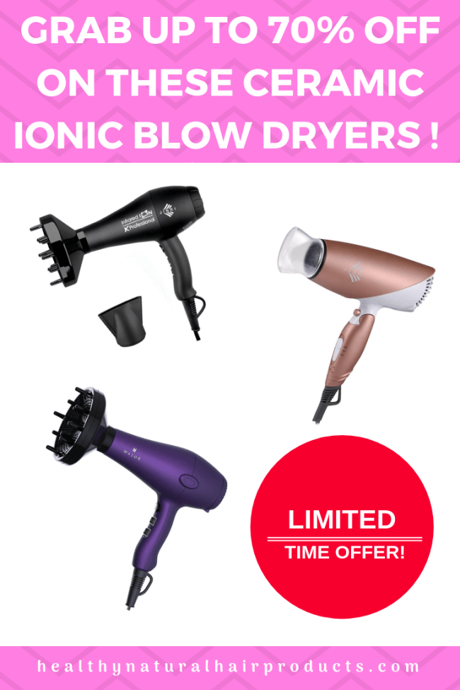 Amazon promo codes for hair dryers. Limited time offers