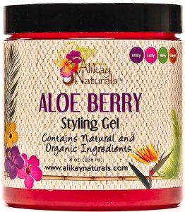 Alikay Naturals Aloe Berry Style Gel, max hydration method