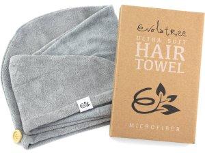 Evolatree Super Absorbent Anti-Frizz Microfiber Hair Towel