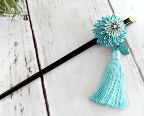 hair accessory Tsumami kanzashi Japanese hair stick