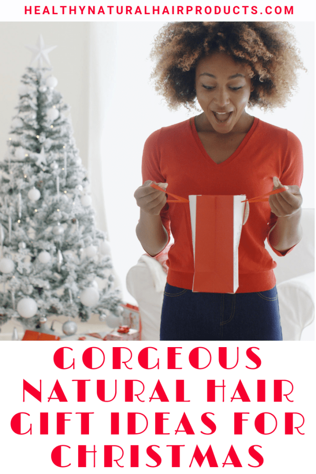 Gorgeous natural hair gift ideas for christmas
