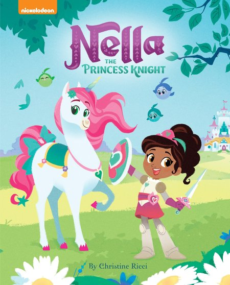 christmas gifts for natural kids, Nella The Princess Knight Picture Book