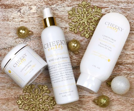 gifts for hair lovers, My Cheeky Curls Holiday Gift Set
