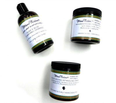 natural hair christmas gifts, Terrene Fusions Natural Hair Care Bundle