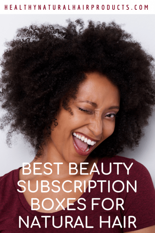 9 Best Beauty Subscription Boxes for Natural Hair