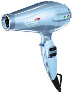 BaBylissPRO Nano Titanium Portofino Full-Size Dryer, best blow dryer for curly hair
