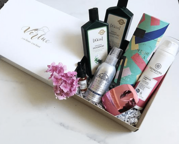 beauty subscription box, vertue box