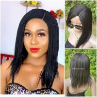 Feathers Braided Wig