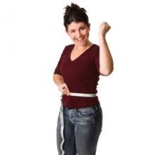 Measuring Tape Around Woman's Waist