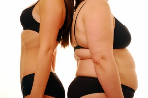 Contrasting Body Shapes
