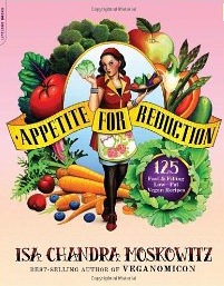 Appetite for Reduction Vegan Cookbook Cover