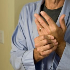 Man With Arthritis in Hands