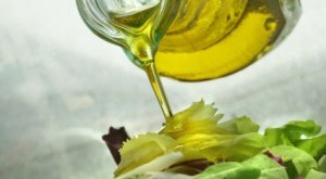 Salad and Olive Oil