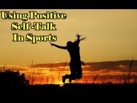 Positive self talk boost performance