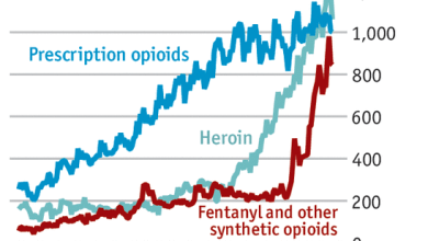 The opioid crisis in the US is reaching peak levels