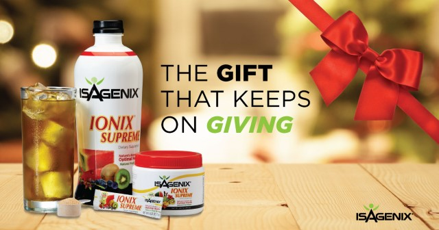Stress Less – Enjoy the Holidays with Ionix Supreme