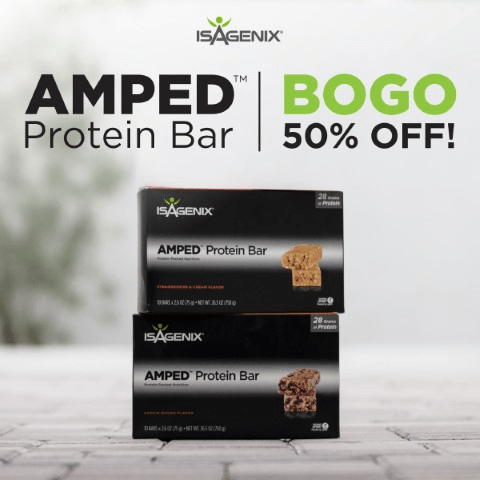 AMP Up Your Workout & Get 50% Off Bars
