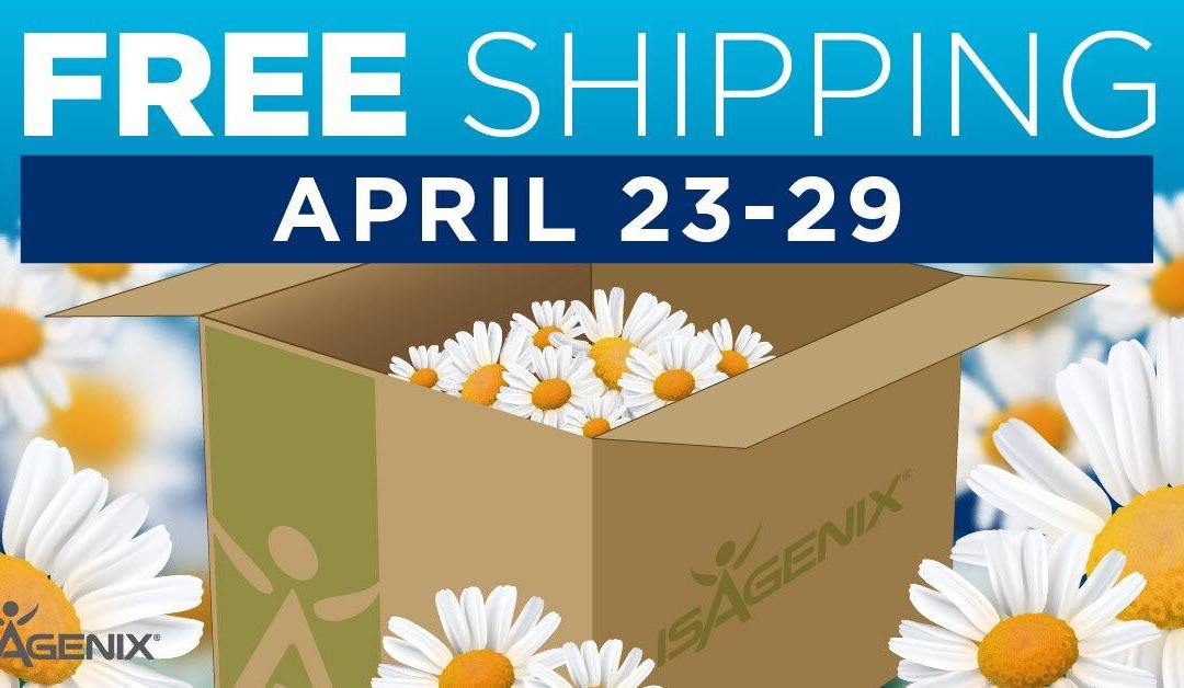 Free Shipping for New Members April 23 to 29!
