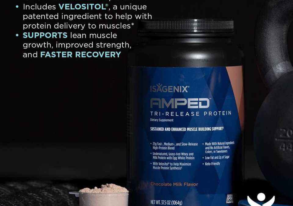 New Isagenix Amped Tri-Release Protein is here!