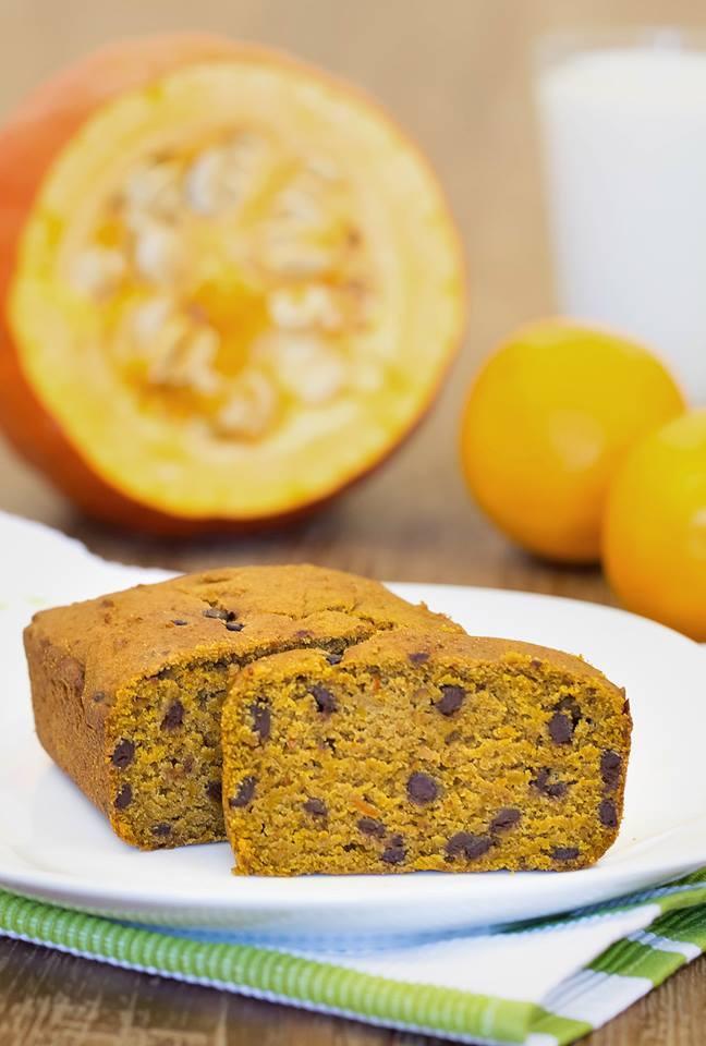 Glutenfreier Kurbis Schoko Kuchen Vegan Fettarm