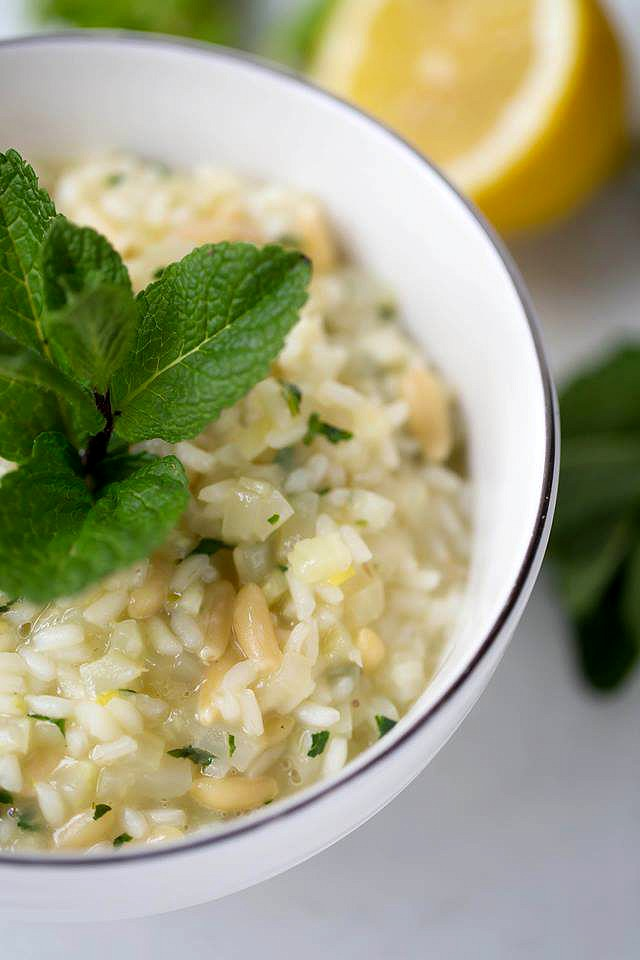Cremiges Risotto mit Fenchelgemuese