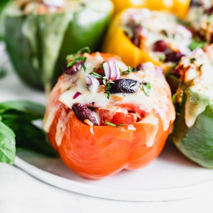 vegetarian stuffed peppers