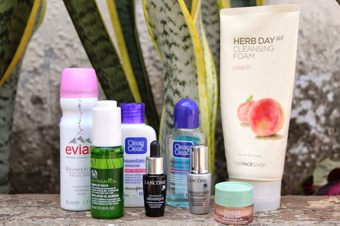 daily skin care routine for acne free skin