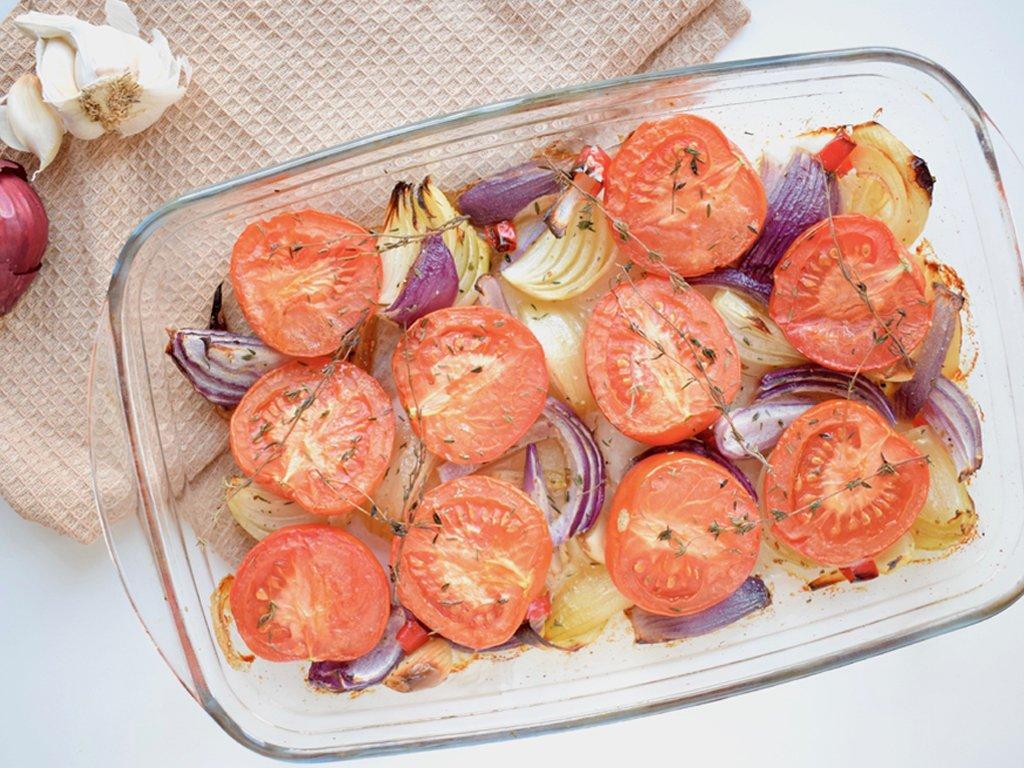 Gegrilde tomaten soep | Eet gezond | Healthy Wanderlust