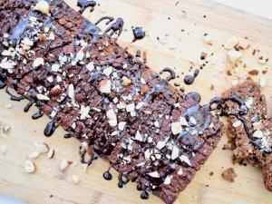 Chocolade cake met pompoen | Snack recept | Healthy Wanderlust
