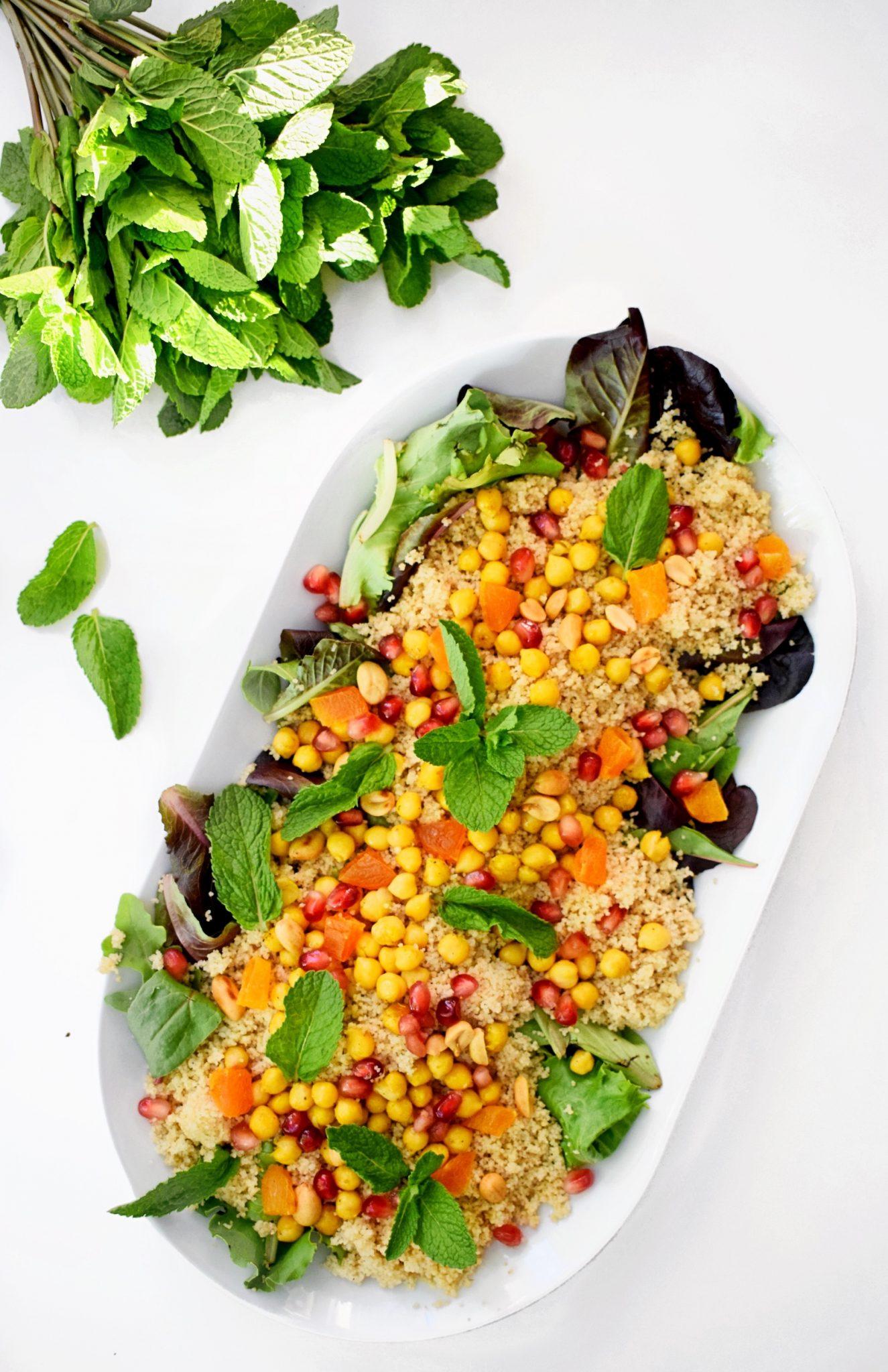 Munt couscous salade | Vegetarisch recept