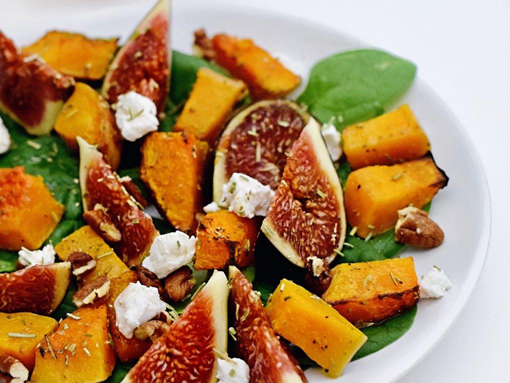Salade met vijgen | Makkelijk recept | Healthy Wanderlust