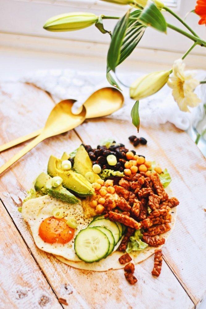 Eiwitrijke lunch wraps | Makkelijk recept