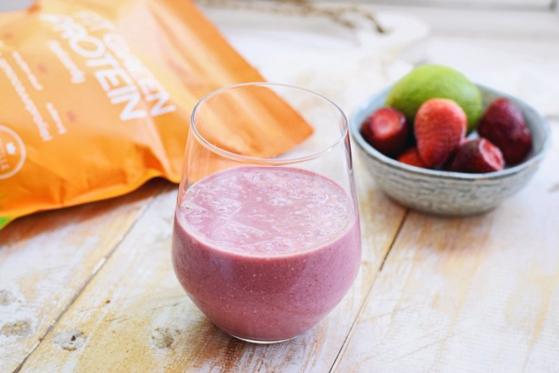 Aardbei smoothie recept
