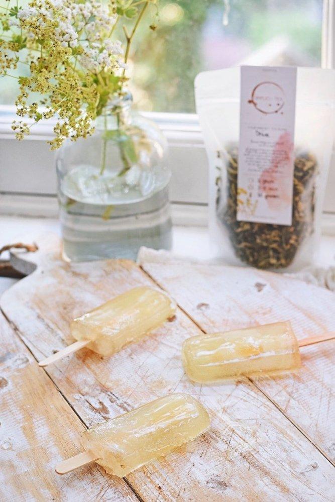 Groene thee ijsjes | Zelf ijsjes maken | Healthy Wanderlust