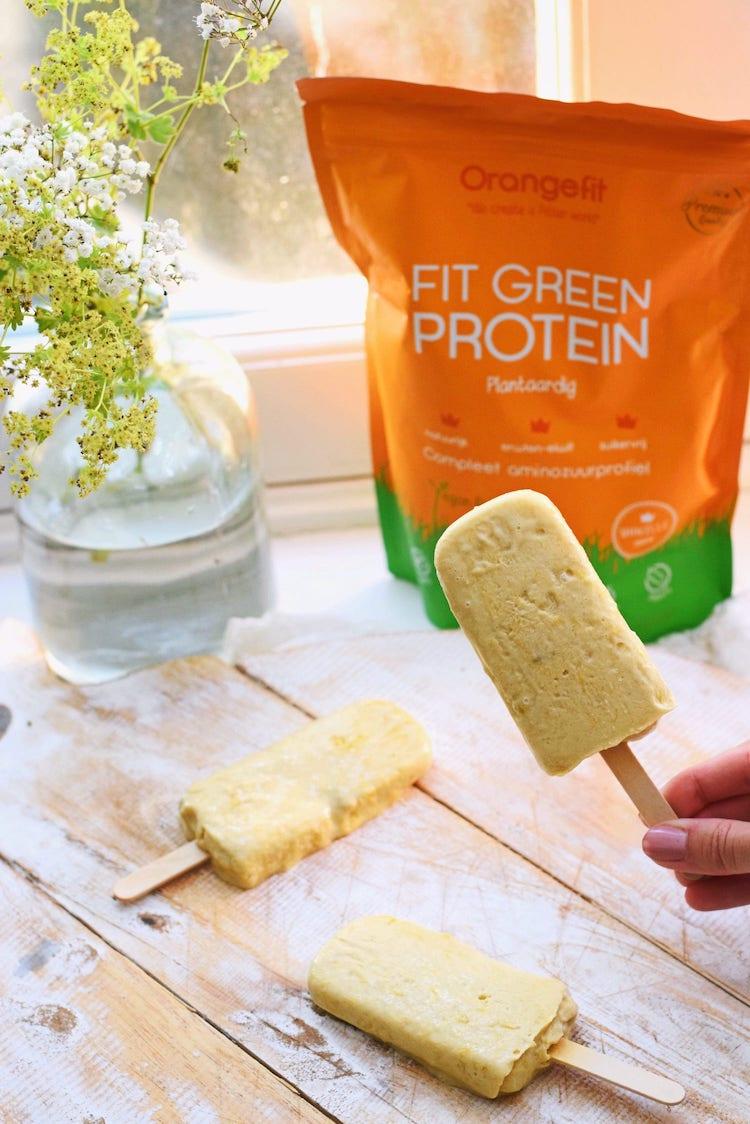Yoghurt ijsjes met fruit | Zelf ijsjes maken| Healthy Wanderlust