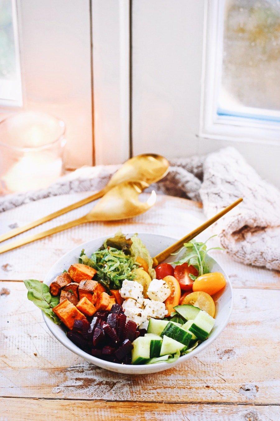 Veggie bowl | Vegetarisch recept | Healthy Wanderlust