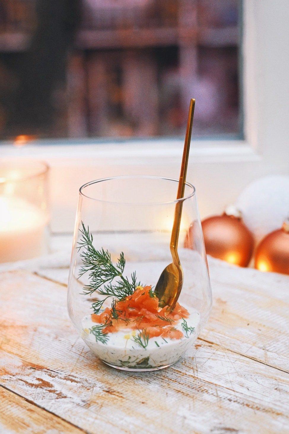 Dille zalm hapje | Kerst voorafje | Kerstmenu 2018 van Healthy Wanderlust