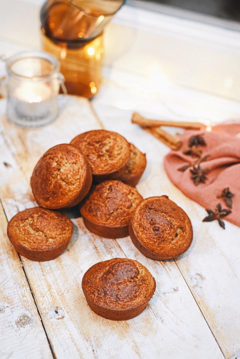 Gezonde speculaas muffins | Verantwoorde snack | Healthy Wanderlust