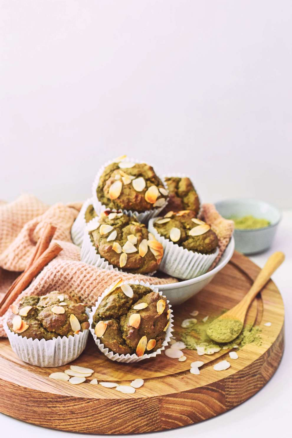 Vegan matcha muffins   Eiwitrijke snack recept