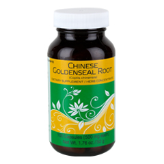 Chinese Goldenseal Root 100 Capsules  (500 mg each capsule)