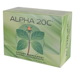 Alpha 20C? 60 Packs - Powder  (0.17 oz./5 g each bag)