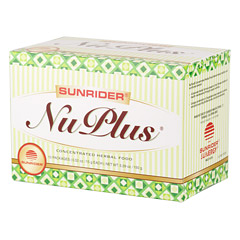 Sunrider® NuPlus® Mixed Berry™ 10 Packs (0.52 oz./15 g each bag)