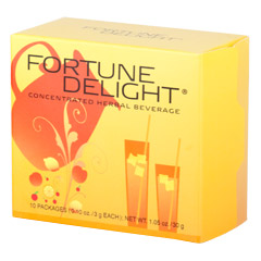 Sunrider® Fortune Delight Lemon 60/3 g Packs (0.10 oz./3 g each bag)