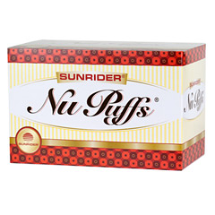 Sunrider® NuPuffs® Apple Cinnamon 6 Bags (2 oz./56 g each bag)