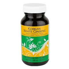 Sunrider® Korean White Ginseng 100 Capsules (525 mg each capsule)