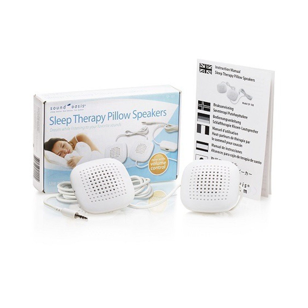 sound oasis sleep therapy pillow speakers for tinnitus relief hearing aid accessories